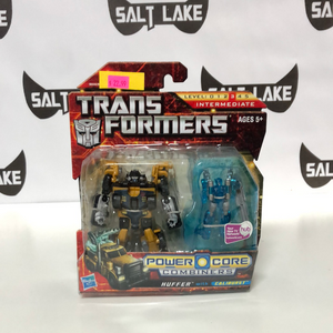 Hasbro Transformers Power Core Combiners HUFFER with CALIBURST