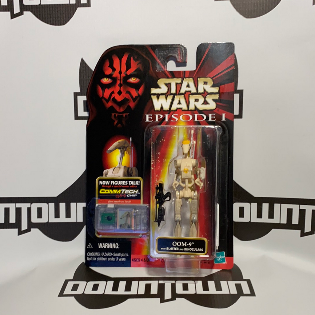 Hasbro Star Wars Episode 1 Comm Tech Oom-9