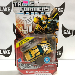 Hasbro Transformers Prime Robots in Disguise Deluxe Class Autobot Bumblebee