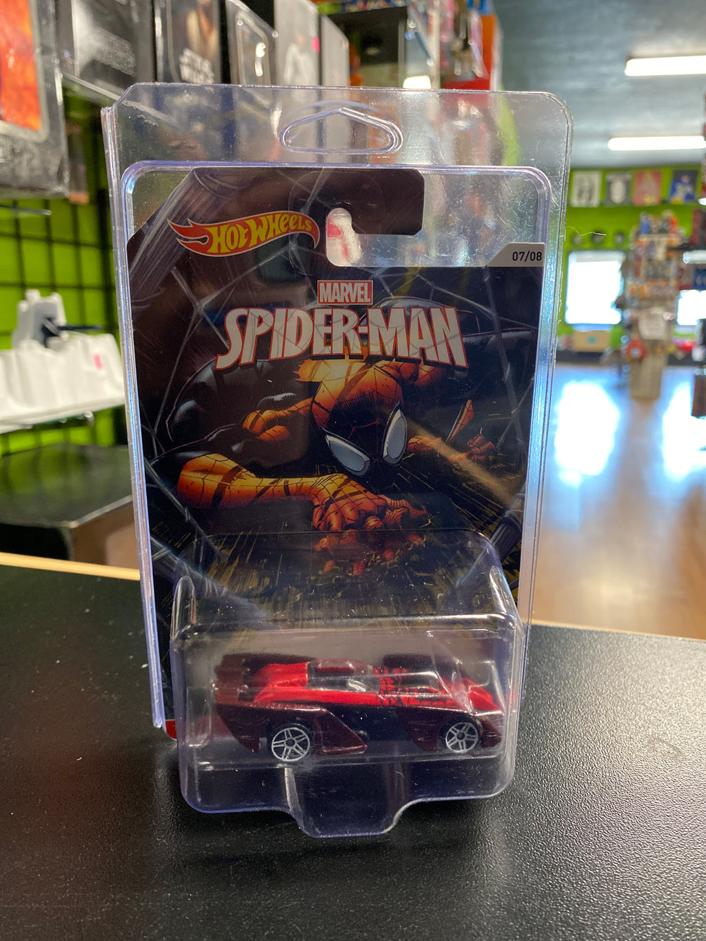 Mattel Hot Wheels Marvel Spider-Man Shredster