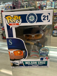 Funko POP! MLB Seattle Mariners Nelson Cruz #21 Safeco Field Exclusive