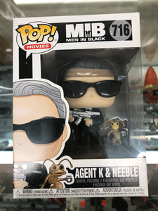 Funko Pop! Movies Men In Black Agent K & Neeble #716