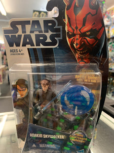 Hasbro Star Wars Clone Wars Anakin Skywalker (Fighting Loghtsaber Launcher)