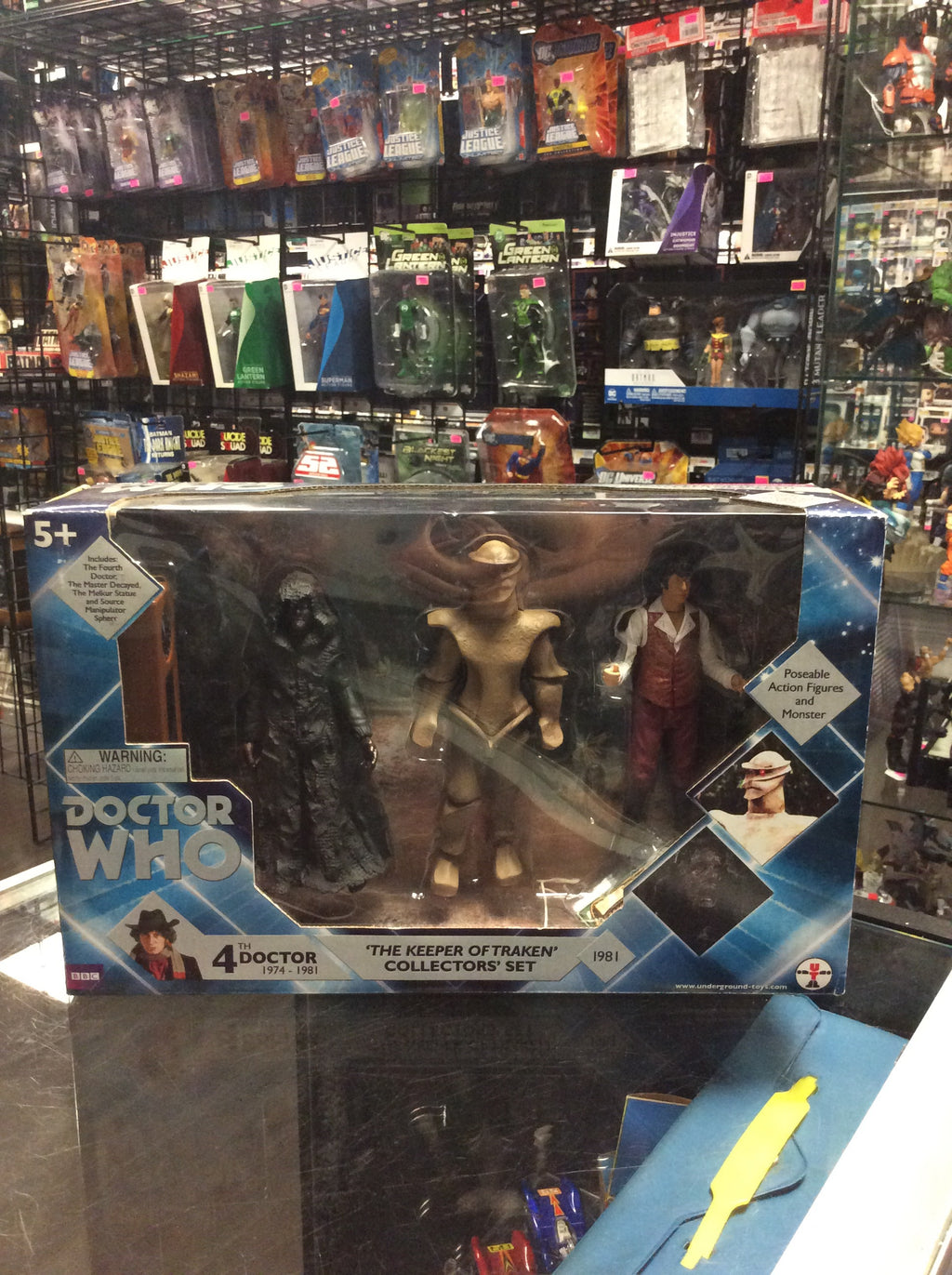 Underground Toys Doctor Who The Keeper Of Traken
