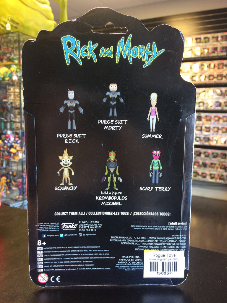 Funko Rick and Morty Summer