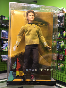 Mattel Barbie collector pink label Star Trek, Captain Kirk