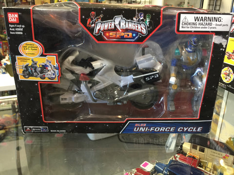 Power Rangers SPD Blue Uni-Force Cycle