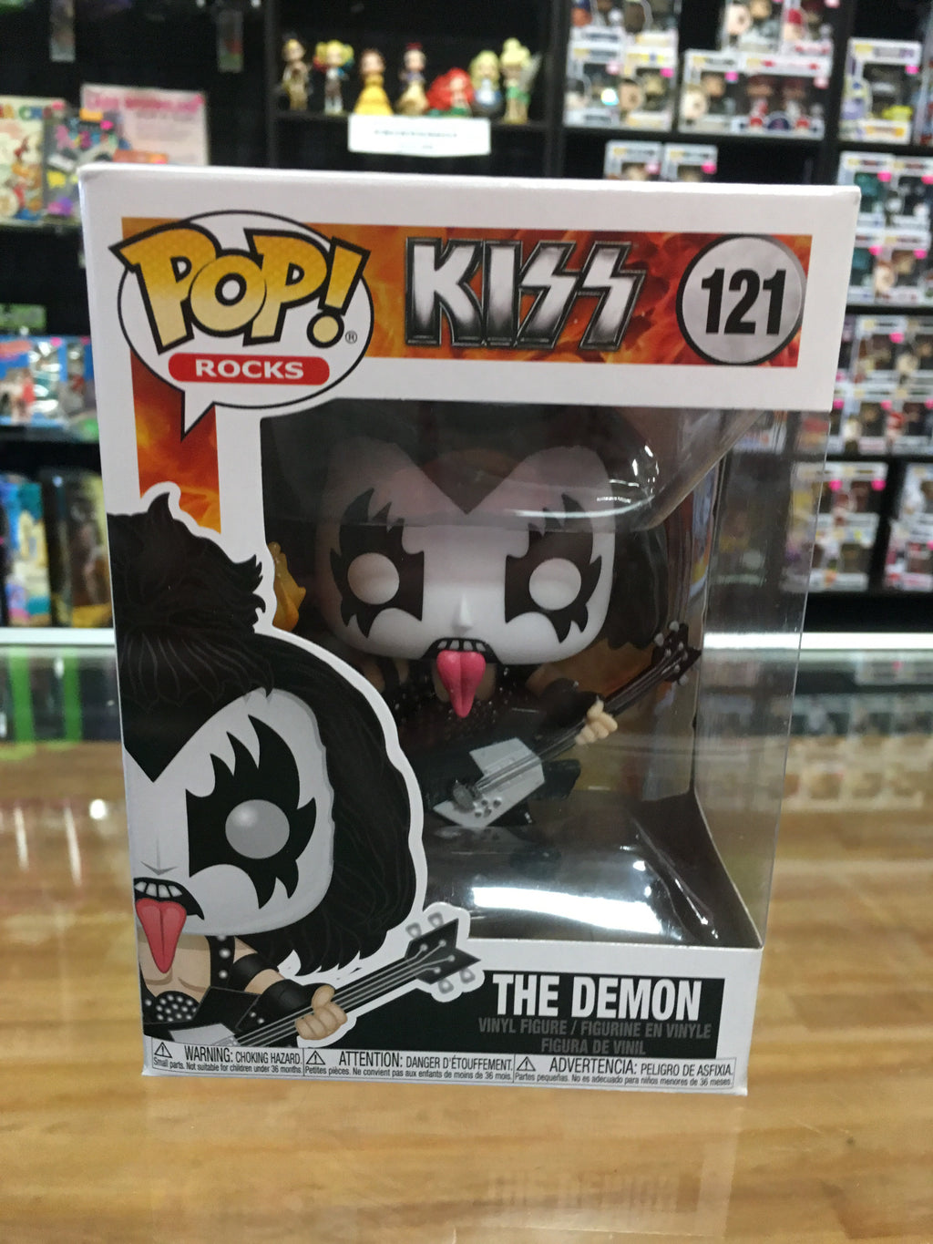 Funko POP! Rocks KISS The Demon 121