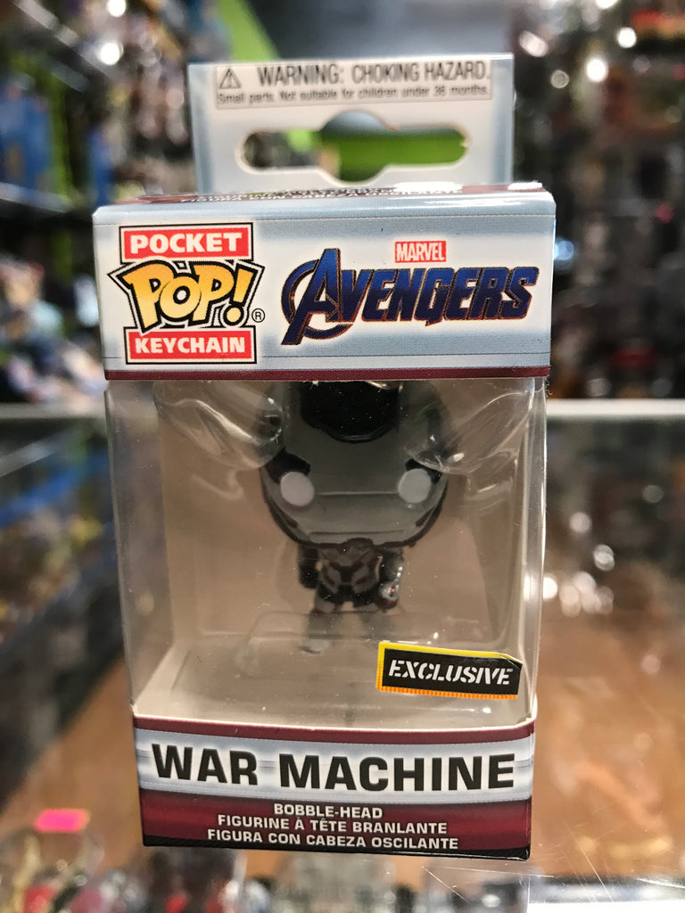 Funko Pocket POP! Keychain Marvel Avengers War Machine Hot Topic Exclusive