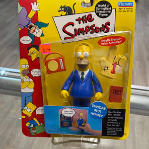 Playmates The Simpsons Sunday Best Homer