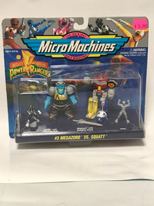 Micro Machines Mighty Morphin Power Rangers #3 Megazord vs. Squatt