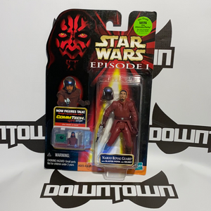 Hasbro Star Wars Episode 1 Comm Tech Naboo Royal Guard