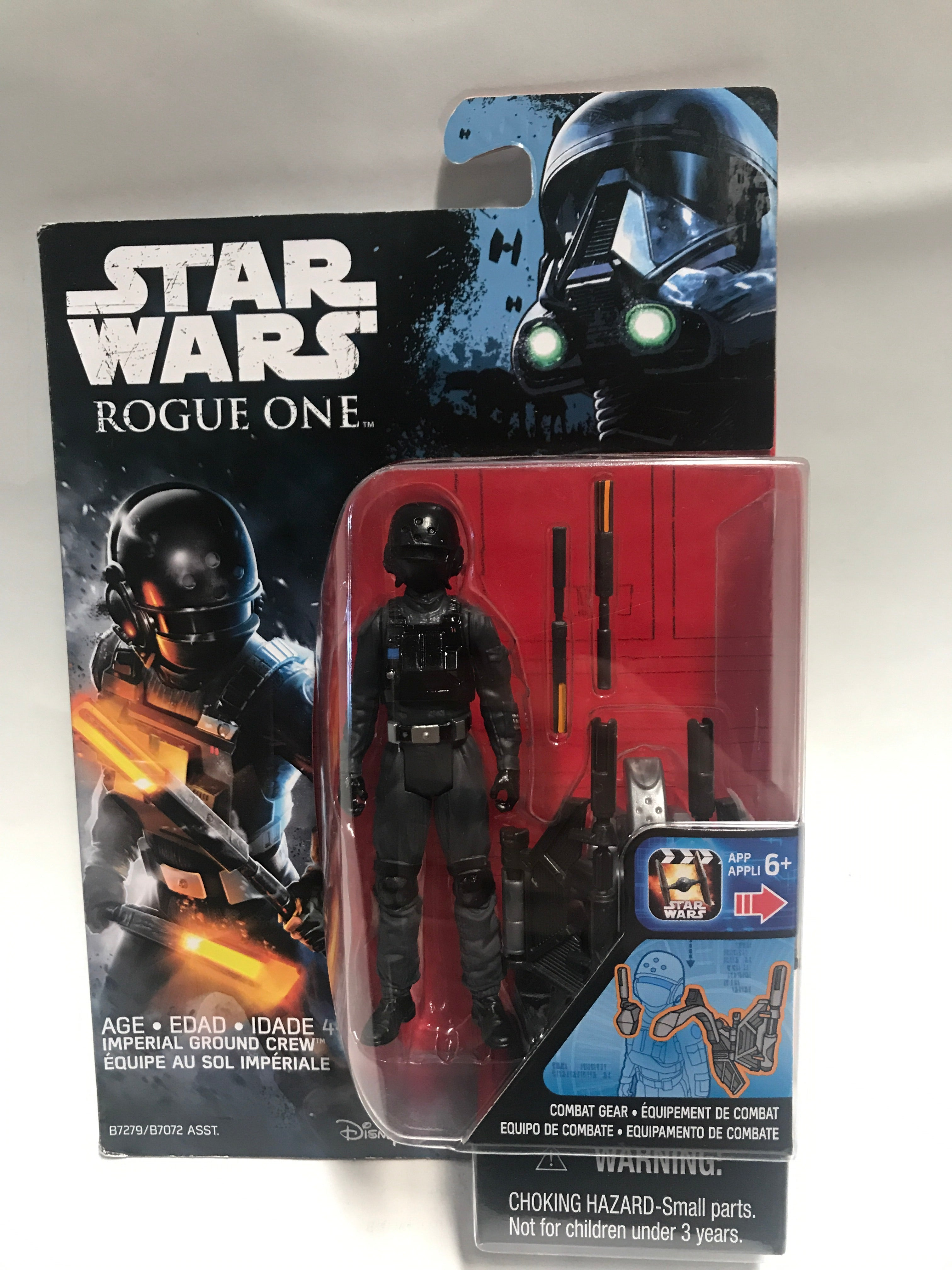 """STAR WARS ROGUE ONE IMPERIAL GROUND CREW 3.75/"""" ACTION FIGURE NEW"""