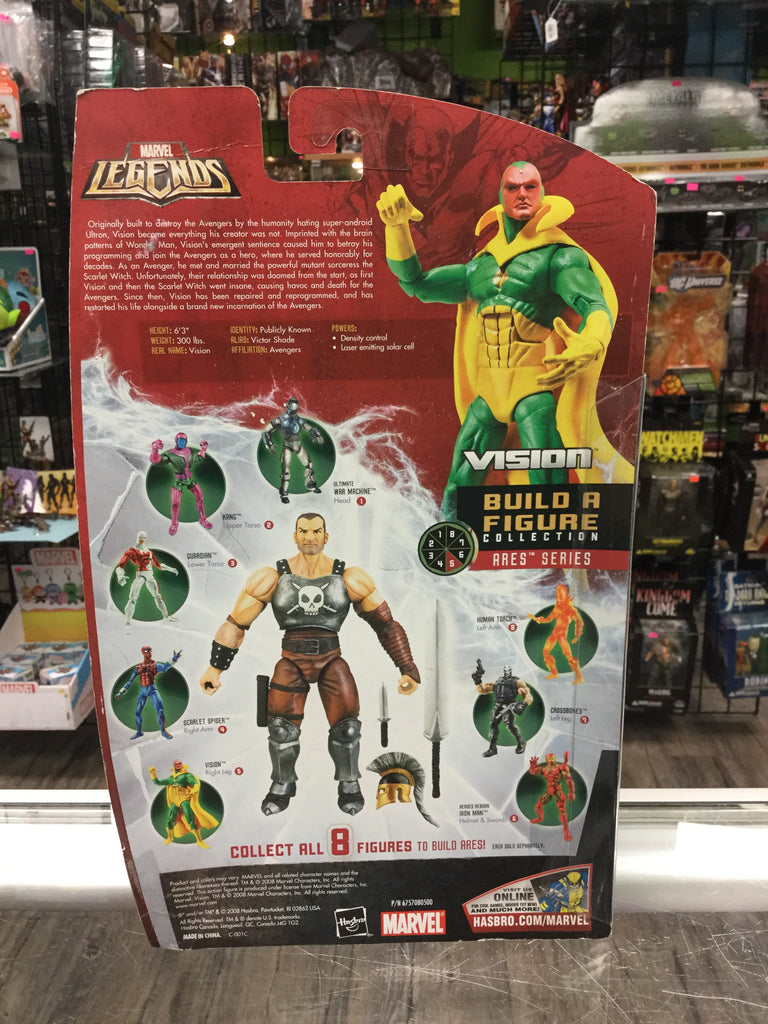 Marvel Legends Vision Area BAF Hasbro