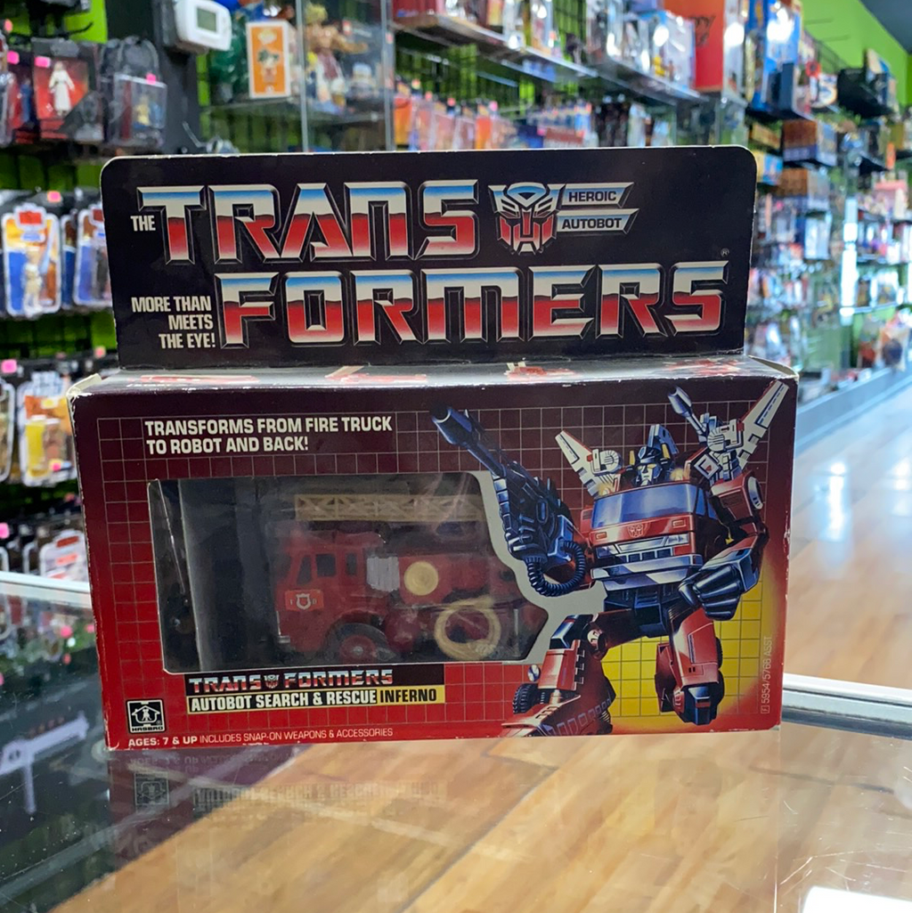 The Transformers More than Meets the Eye Autobot Search and Rescue Inferno