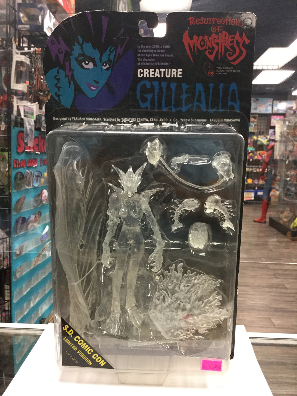 YELLOW SUBMARINE Resurrection of Monstress, Creature Gillealla (SDCC Limited Edition 1 of 1000)