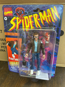 Hasbro Marvel Legends Spider-Man Retro Peter Parker