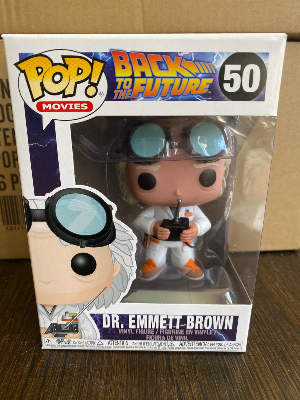 Funko POP! Movies Back to the Future Dr. Emmit Brown 50