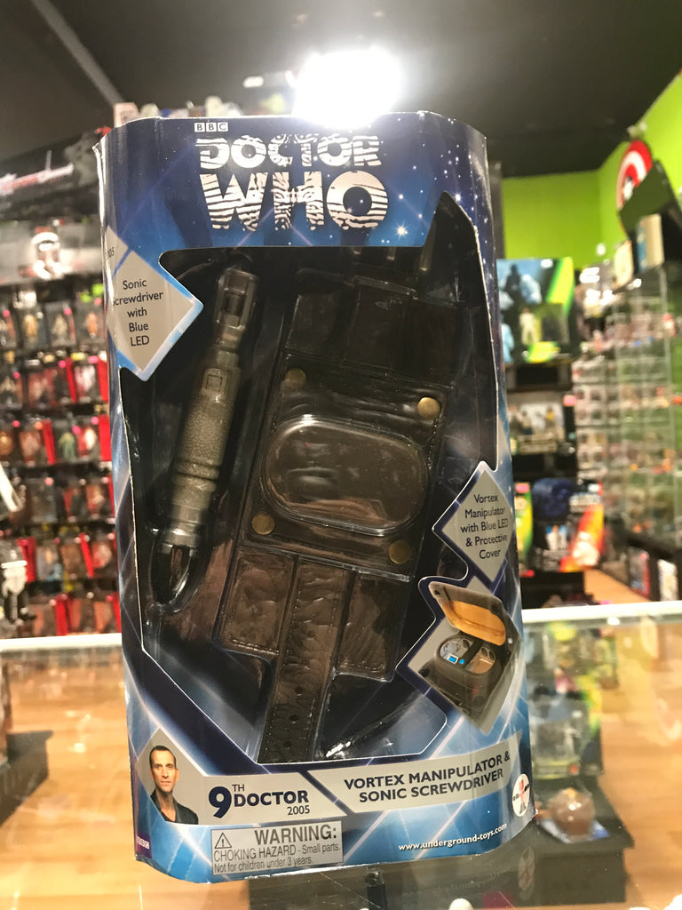 Underground Toys Doctor Who 9th Doctor Vortex Manipulator and Sonic Screwdriver