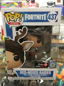 Funko POP! Games Fortnite Red-Nosed Raider #437 Exclusive