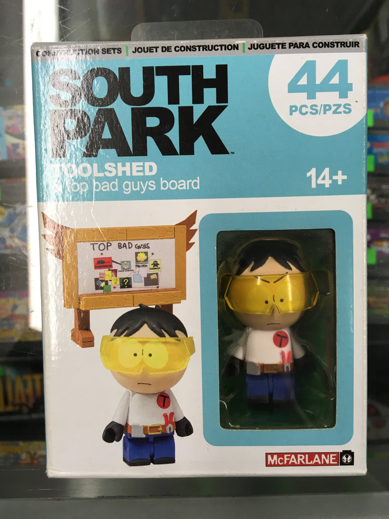 McFarlane Construction Sets South Park Toolshed