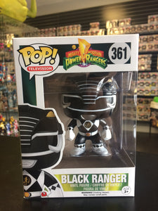 Funko Pop! Television Mighty Morphin Power Rangers Black Ranger #361