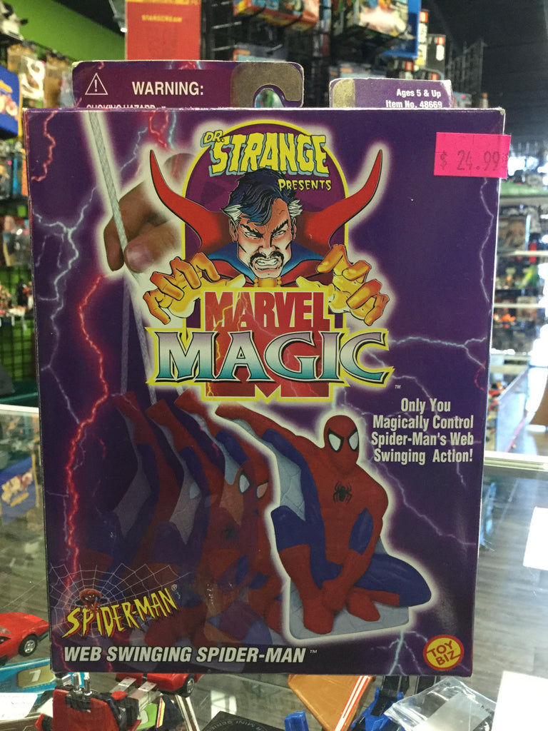 Marvel Magic Web Swinging Spiderman