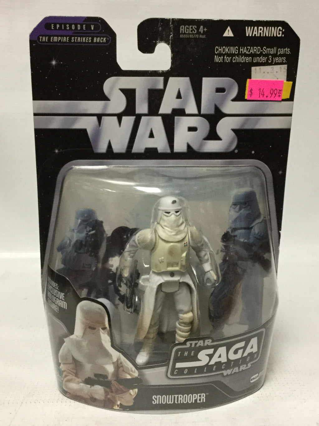 Hasbro Star Wars The Saga Collection Snowtrooper