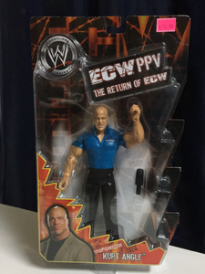 WWE Jakks Pacific Return of ECW Kurt Angle