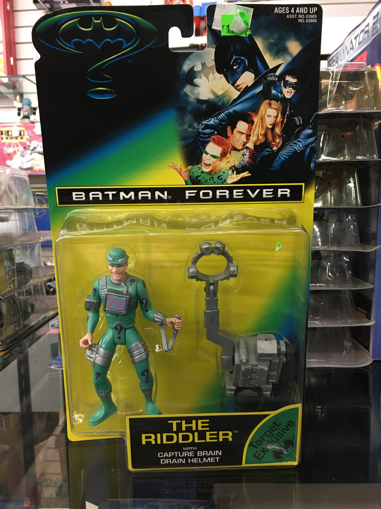 Batman Forever The Riddler with Capture Brain drain Helmet