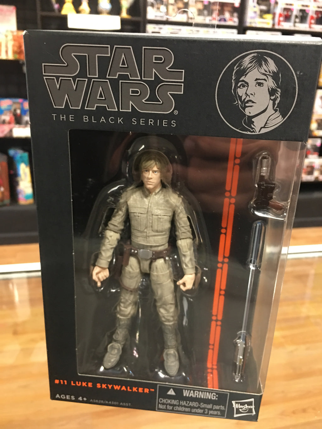 Star Wars Black Series Luke Skywalker Bespin Fatigues Hasbro