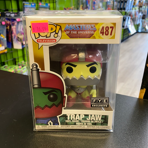 FUNKO POP! Masters of the Universe FYE Exclusive Trap Jaw #487