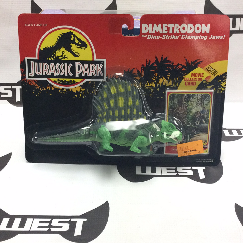 KENNER Jurassic Park Dimetrodon with Dino-Strike Clamping Claws (1993)