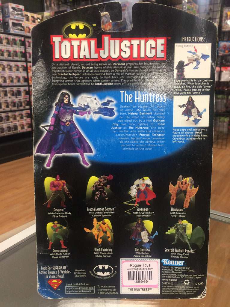 Kenner Batman Total Justice The Huntress