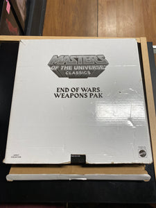 Masters of the Universe Classics End of Wars Weapons Pak