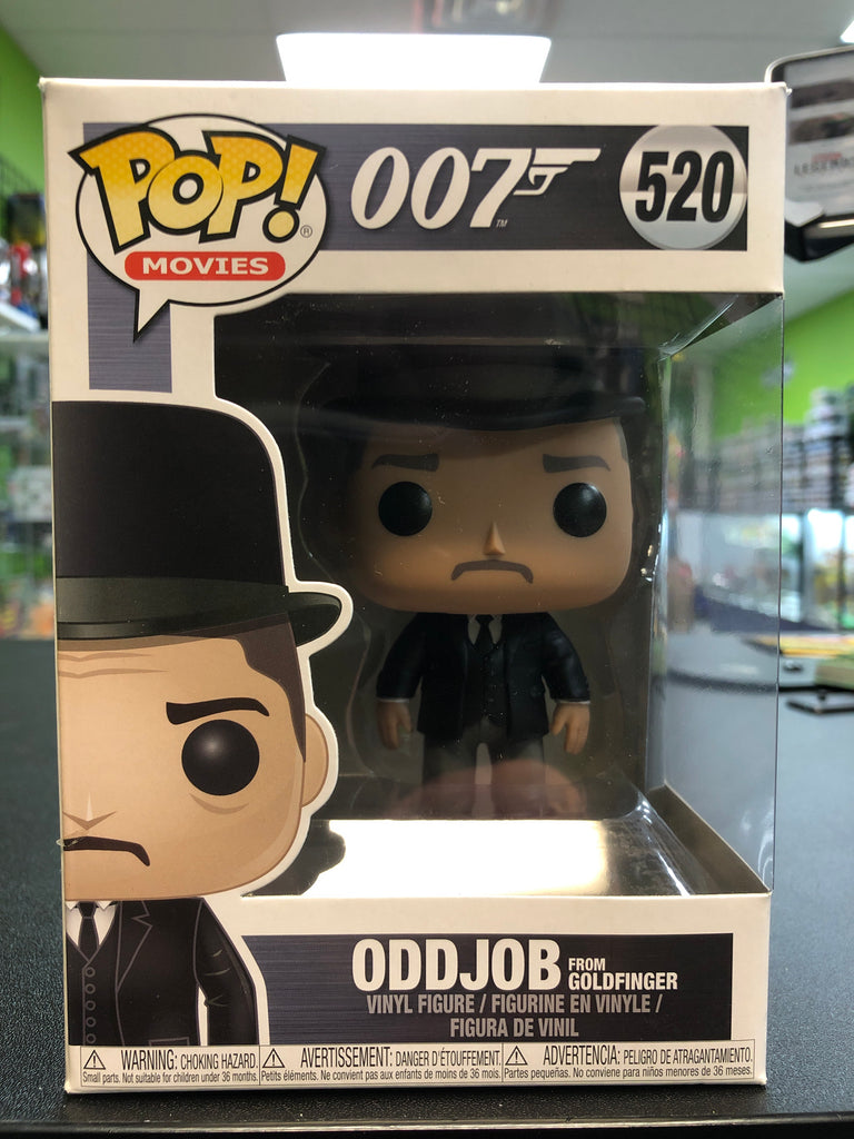Funko POP! Movies 007 OddJob (from Goldfinger) 520