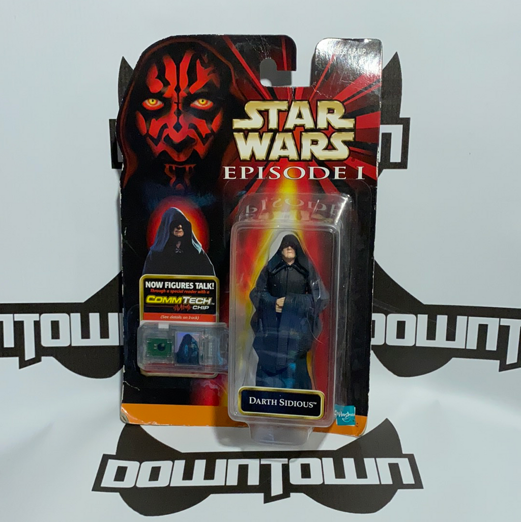 Hasbro Star Wars Episode 1 Comm Tech Darth Sidious