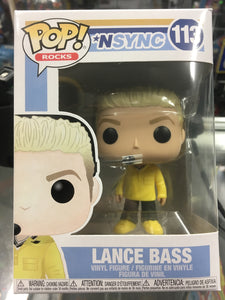 Funko POP! Rocks *NSYNC Lance Bass #113