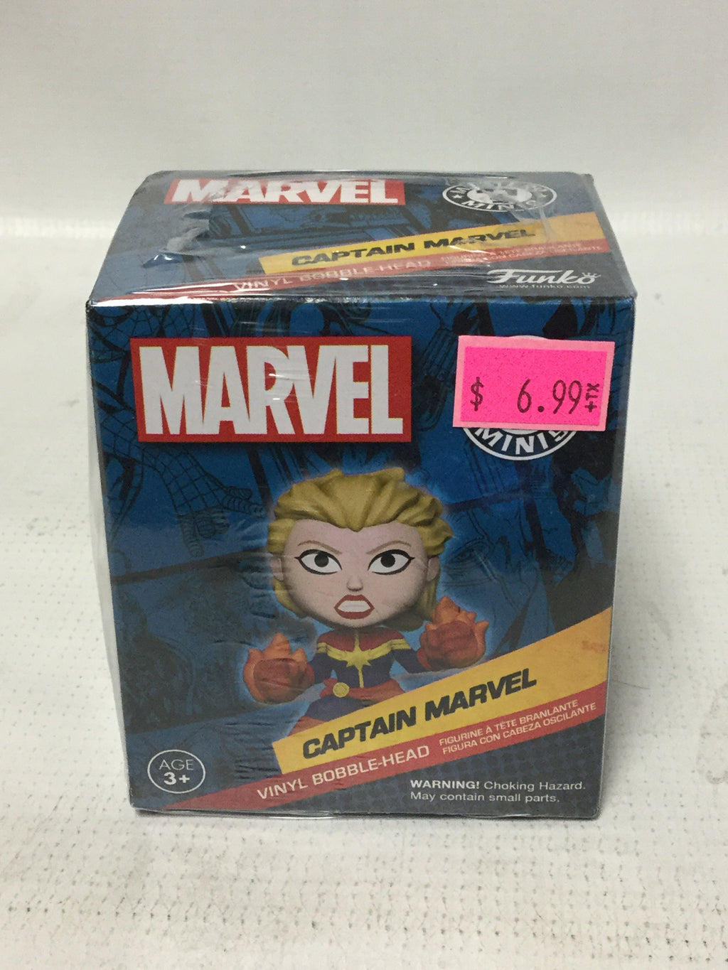 Funko Mystery Mini Marvel Captain Marvel Bobble Head