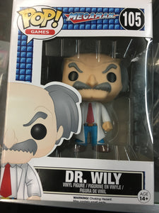 Funko POP! Games Megaman Dr. Wily #105