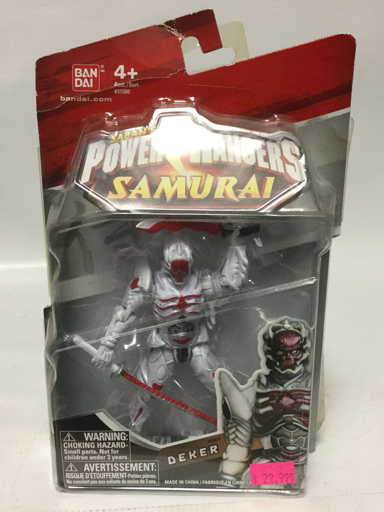 Bandai Saban's Power Rangers Samurai Decker