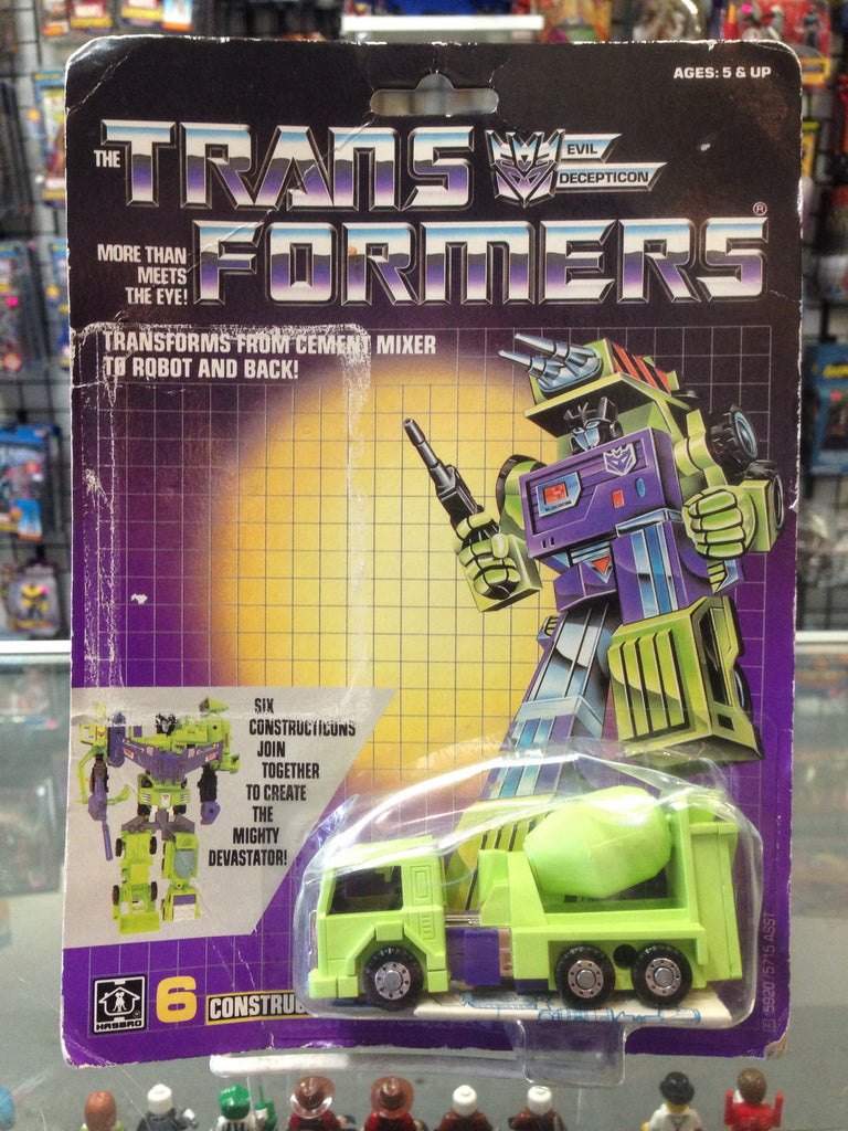 Hasbro G1 Transformers Construction Mixmaster