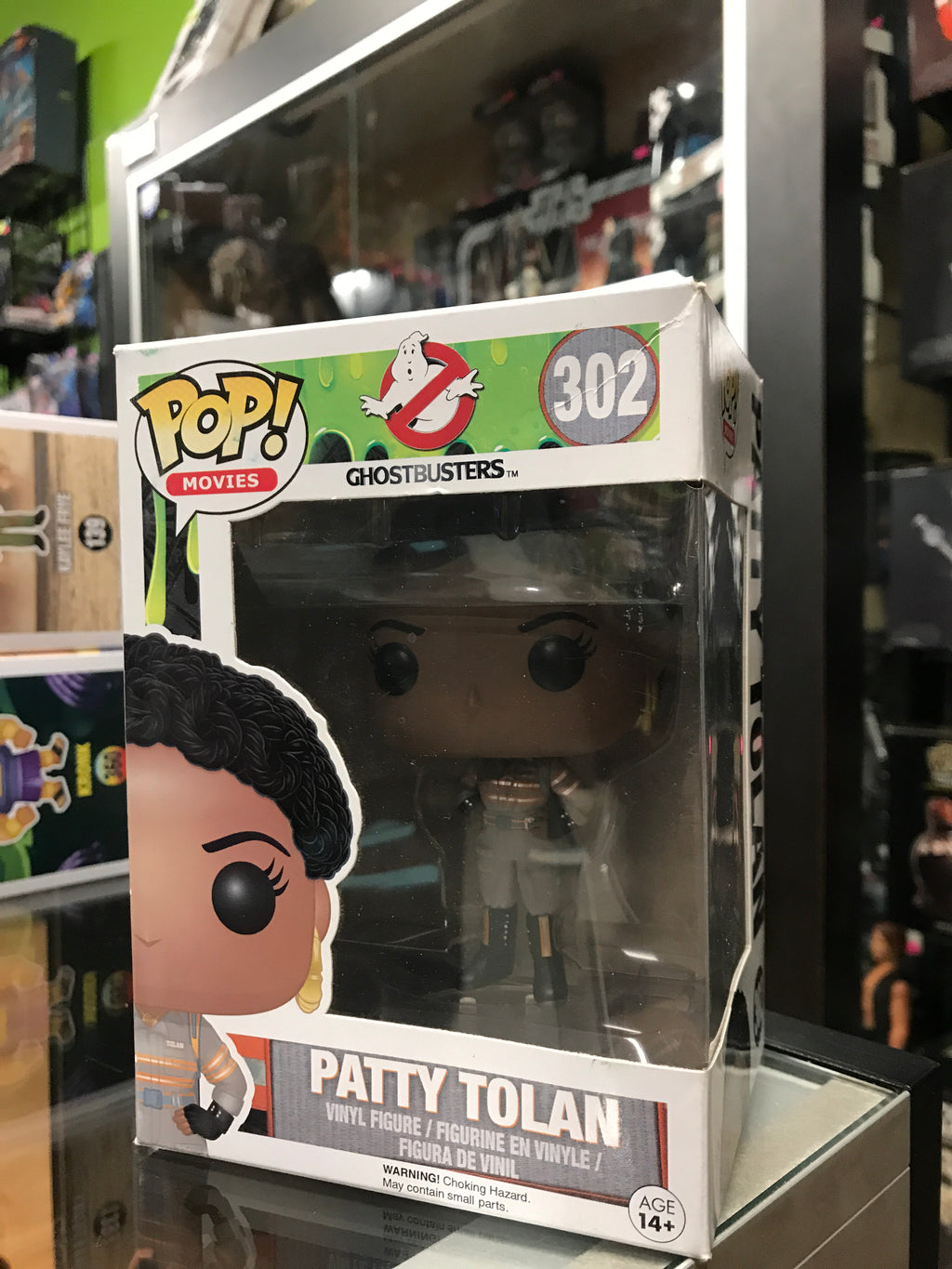 Funko Pop! Ghostbusters Patty Tolan 302