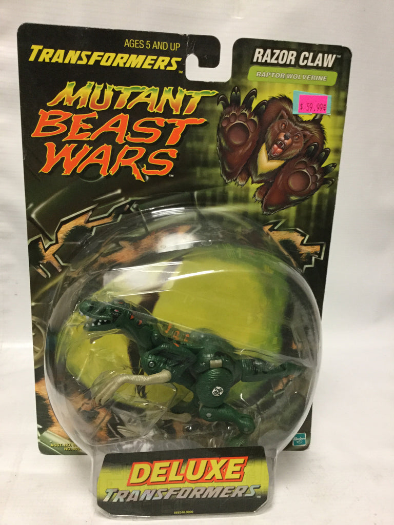 Transformers Mutant Beast Wars Ramon Claw Raptor Wolverine Deluxe
