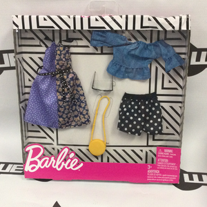 "MATTEL Barbie Deluxe Fashion Pack - ""Dot, Dot, What a Girl I Got"""