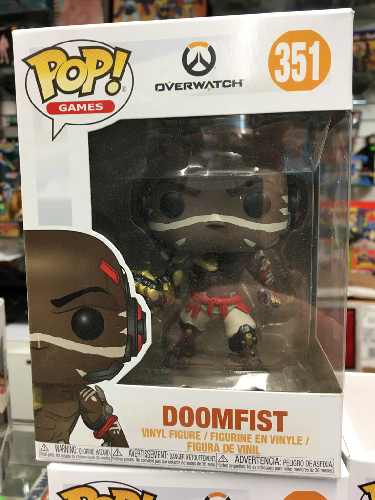 Funko POP! Games - Overwatch Doomfist #351