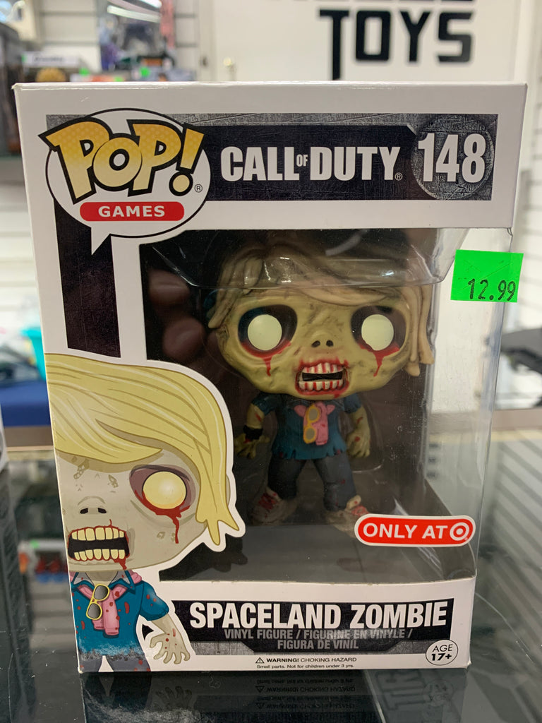 Funko POP! Games Call of Duty Spaceland Zombie #148 (target exclusive)