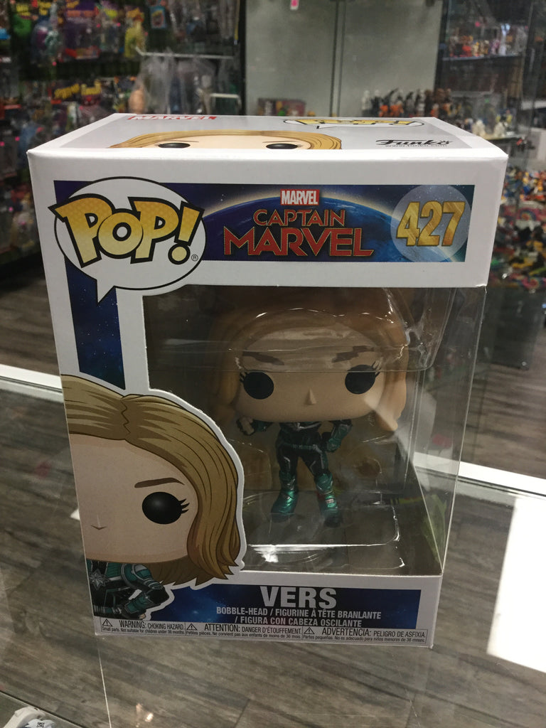 Funko Pop Marvel Captain Marvel Vers #427