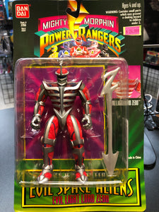 BanDai Mighty Morphin Power Rangers EVIL LIGHT LORD ZEDD
