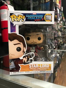Funko Pop! Star-Lord #198 Guardians of the Galaxy Vol.2